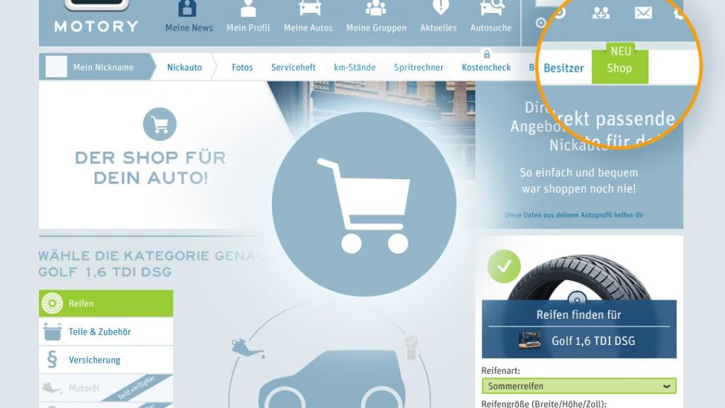 Shop für dein Auto